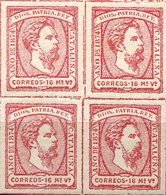 ESPAÑA    Nº 157    BLOQUE  4   Sin Charnela    -731 - 1873-74 Regency