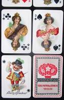 ANTIQUE BOXED DOUBLE CARD GAME ** PIATNIK & SÖHNE ** - DOUBLE JEU DE CARTES ANTIQUE EN BOITE - VERS 1890 ? RARE - Andere Verzamelingen