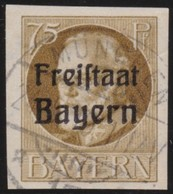 Bayern      .      Michel    .    163  B       .    O     .      Gebraucht   .     /    .    Cancelled - Bayern