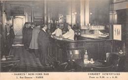 CPA 75 -   PARIS - 5, Rue Daunou - Harry's New York Bar -  Intérieur - Distretto: 02