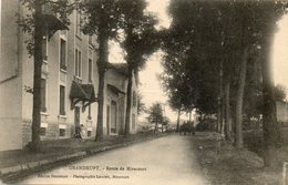 CPA - GOLBEY (88) - Aspect De La Route De Mirecourt Au Début Du Siècle - Golbey