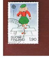 FINLANDIA (FINLAND) -     EUROPA 1989 -  USED - 1989