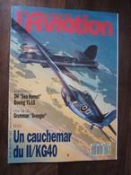 """Revue - Le Fana De L'aviation N 257 - DH """"sea Hornet"""" - Boeing YL-15 - Grumman """"avenger"""" -II/KG40 - Avion"""