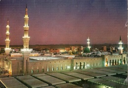 JEDDAH GREEN DOME AND PROPHET'S HOLY MOSQUE AT DUSK - Arabie Saoudite