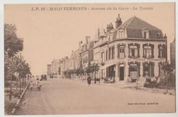CPA 59 MALO TERMINUS Avenue De La Gare - Le Tennis - Autres Communes