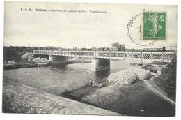 17-BEILLANT-Le Pont Du Chemin De Fer - Vue Générale...1913  Animé - France