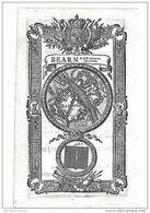 EX LIBRIS Ancien < BEARN & Baffe Navarre Fept Place - BAYONE - 93e - Ex-libris