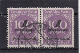 Deutsches Reich, Nr. 331b Im Paar, Gest. Geprüft Infla Berlin (T 5955 ) - Allemagne