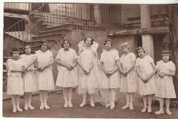 Groupe De Jeunes Danseuses ( Castelnaudary ?) - Carte Photo - Danse