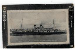 """Nieuwe Mailboot """"Prinses Juliana"""" Der Maatschappij """"Zeeland"""" - Paquebots"""