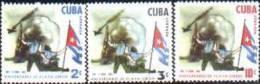 CUBA/KUBA 1962 PRIMER ANIVERSRIO DE LA VICTORIA DE PLAYA GIRON MNH - Cuba