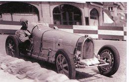 Grand Prix De Montreux 1934  -  Bugatti Typ 51 -  Pilote: Pierre Veyron  -  15x10 PHOTO - Grand Prix / F1
