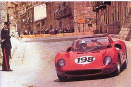 Targa Florio 1965  -  Ferrari 275P2 -  Pilote: Nino Vaccarella  -  15x10 PHOTO - Le Mans