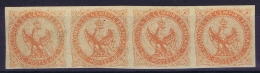 Colonies Générales: Yv Nr 2 Neuf Sans Charniere  , 2x   MH/* Flz/ Charniere Bande De 4 - Águila Imperial