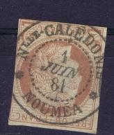 Colonies Générales: Yv Nr 40  Obl./Gestempelt/used  Very Complete Cancel Of Nouvelle Caledonie  RRR - Cérès