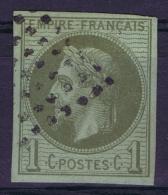 Colonies Générales: Yv Nr  7 Obl./Gestempelt/used - Napoléon III.