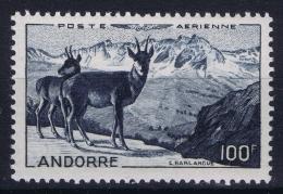 Andorra : Yv Nr 1 Postfrisch/neuf Sans Charniere /MNH/**  1950 - Poste Aérienne