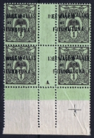 Wallis Et Futuna Yv 1 A Double Surcharge MH/* Flz/ Charniere - Neufs