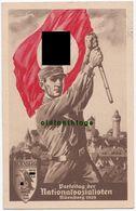 Propaganda Reichs - Parteitag Postkarte Nr.1 Nürnberg 4.8.1929 Echt Gelaufen! - 1939-45