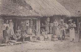 Commerces - Marchand De Fruits - Bananes Régimes - Ceylan Ceylon - Marchands