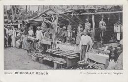 Commerces - Marchand De Fruits - Bananes Régimes - Ceylan Ceylon - Colombo - Bazar Indigène - Marchands