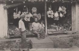 Commerces - Marchand De Fruits - Bananes Régimes - Ceylan - Ceylon Fruits - Native Boutique - Marchands
