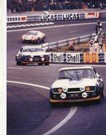 24 Heures Du Mans 1972  -  Ford Capri 2600RS -  Pilotes: Gerry Birrell/Claude Bourgoignie  -  15x10 PHOTO - Le Mans