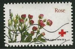 Adh 0989 - 2014 : Carnet Croix-Rouge - L'amour En 10 Fleurs... Rose - France