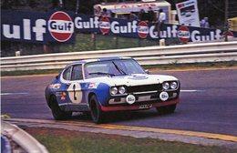 1000kms Spa-Francorchamps 1972  -  Ford Capri 2600RS -  Pilotes: Jochen Mass/Hans Stuck  -  15x10 PHOTO - Le Mans