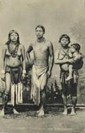 Suriname, MAROWIJNE, Native Man And Nude Women, Necklace (1911) Postcard - Surinam