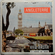 VIEW MASTER  POCHETTE DE 3 DISQUES  :  ANGLETERRE     C  320 - Stereoscopes - Side-by-side Viewers