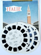 VIEW MASTER  POCHETTE DE 3 DISQUES  :  ITALIE     C  080 - Stereoscopes - Side-by-side Viewers