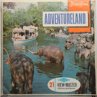 VIEW MASTER  POCHETTE DE 3 DISQUES  :  ADVENTURELAND   A 177 - Stereoscopes - Side-by-side Viewers