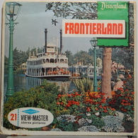 VIEW MASTER  POCHETTE DE 3 DISQUES  :  FRONTIERLAND   A 176 - Stereoscopes - Side-by-side Viewers