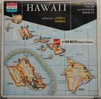 VIEW MASTER  POCHETTE DE 3 DISQUES  :  HAWAII   A 120 - Stereoscopes - Side-by-side Viewers