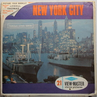 VIEW MASTER  POCHETTE DE 3 DISQUES  :  NEW YORK CITY   A 649 - Stereoscopes - Side-by-side Viewers