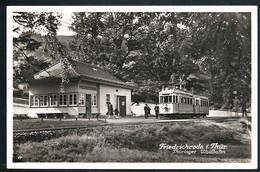 AK/CP Friedrichsroda  Strassenbahn  Tram  Waldbahn      Gel/circ. 1941    Erhaltung/Cond. 2   Nr. 00453 - Friedrichroda