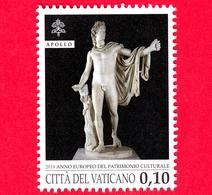 Nuovo - MNH - VATICANO - 2018 - Anno Europeo Del Patrimonio Culturale - Apollo Del Belvedere - 0.10 - Vatican