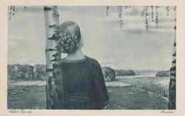 Künstlerkarte AK Walter Voss Fec Sommer Kunst Art Malerei Aus Heimatbuch Durch Felder Wälder Auen - Künstlerkarten