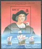 Solomon Salomon Islands 2006 Yvertn° Bloc 79 *** MNH Cote 10 Euro Bateaux Boten Ships - Salomon (Iles 1978-...)