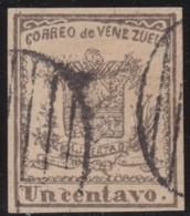 Venezuela          .    Yvert      .       7    .       O      .    Gebruikt   .     /    .    Cancelled - Venezuela