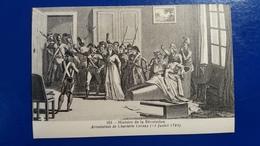 HISTOIRE DE LA REVOLUTION ARRESTATION DE CHARLOTTE CORDAY 1793 - Histoire