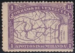 Venezuela          .    Yvert      .       58       .       *       .     Ongebruikt   .     /    .    Mint-hinged - Venezuela