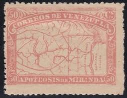 Venezuela          .    Yvert      .       57      .       *       .     Ongebruikt   .     /    .    Mint-hinged - Venezuela