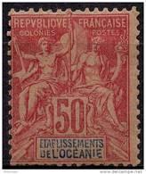 Oceanie (1892) N 11 * (charniere) - Oceania (1892-1958)