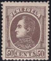 Venezuela          .    Yvert      .       27    .       *       .     Ongebruikt   .     /    .    Mint-hinged - Venezuela