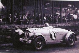 24 Heures Du Mans 1938  -  Delahaye 135CS  -  Pilote: Louis Villeneuve  -  15x10 PHOTO - Le Mans
