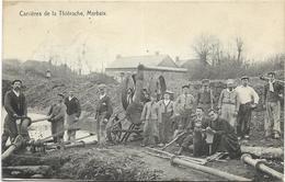59 - Carrières De La Thiérache, MARBAIX. Beau Plan, Rare CPA Ayant Circulé En 1913. BE. - France