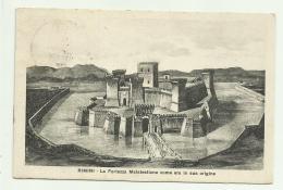 RIMINI - LA FORTEZZA  MALATESTIANA  COME ERA IN SUA ORIGINE  VIAGGIATA FP - Rimini