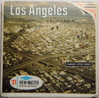 VIEW MASTER  POCHETTE DE 3 DISQUES   LOS ANGELES   A 181 - Stereoscopes - Side-by-side Viewers